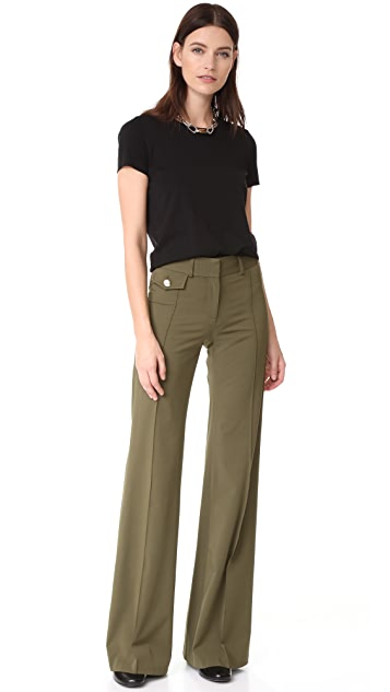 Veronica Beard Groove High Waisted Pants