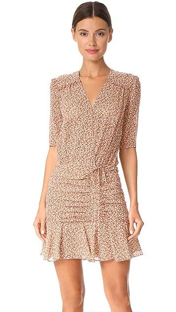 fe0e85ace98 Veronica Beard Dakota Flounce Dress ...