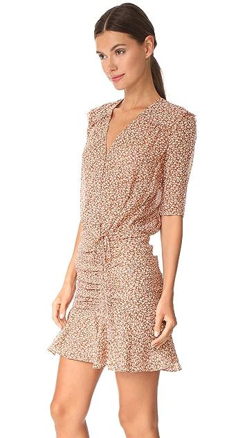 Veronica Beard Dakota Flounce Dress