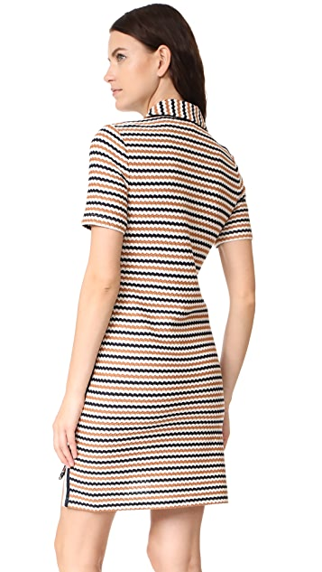 Veronica Beard Shay Polo Neck Dress