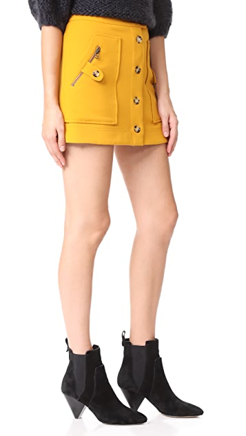 Veronica Beard Monroe Cargo Miniskirt