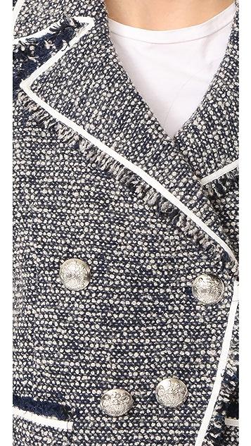 Veronica Beard Carroll Portrait Neckline Jacket
