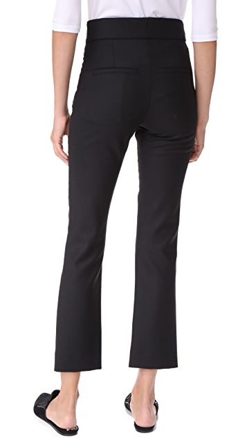 Veronica Beard Vaughn Cropped Pants