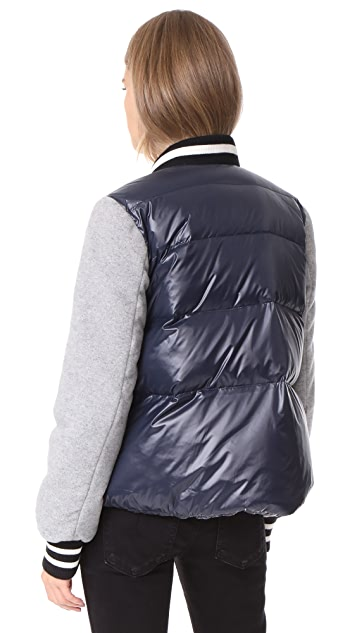 Veronica Beard Lennon Swing Puffer Jacket