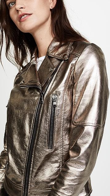 Veronica Beard Mica Biker Jacket