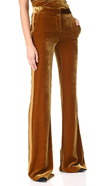 Veronica Beard Ramsey Wide Leg Tux Pants