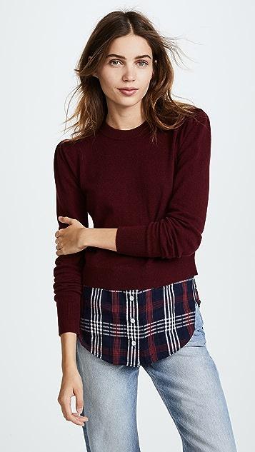 Veronica Beard Combo Sweater