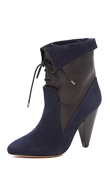 Veronica Beard Hawthorne Heel Booties