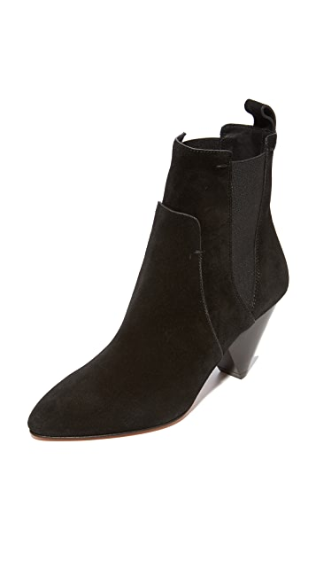 Veronica Beard Landon Heel Booties
