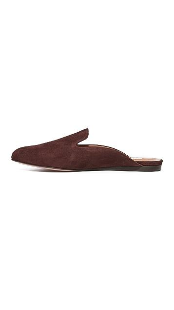 Veronica Beard Grey Slide Mules