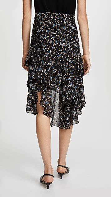 Veronica Beard Cella Midi Skirt