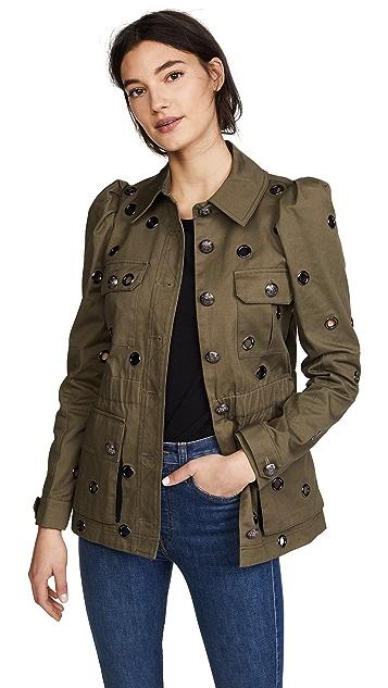 Veronica Beard Lewis Safari Grommet Jacket