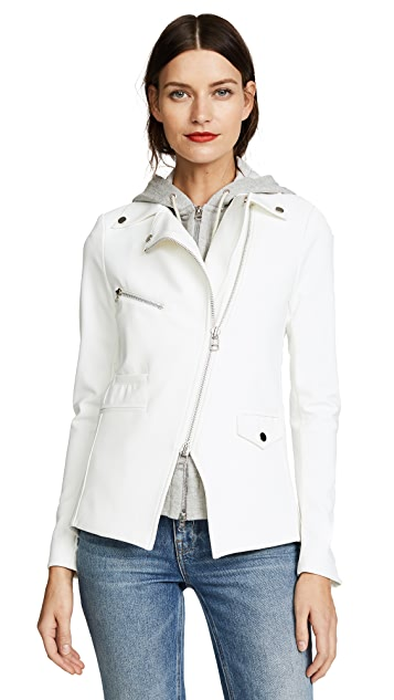 Veronica Beard Scuba Hadley Jacket with Grey Dickey