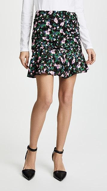 Veronica Beard Violet Skirt - Navy/Green/Pink