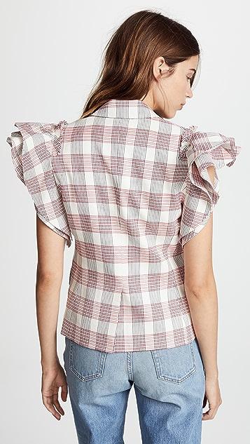 Veronica Beard Rosa Vest