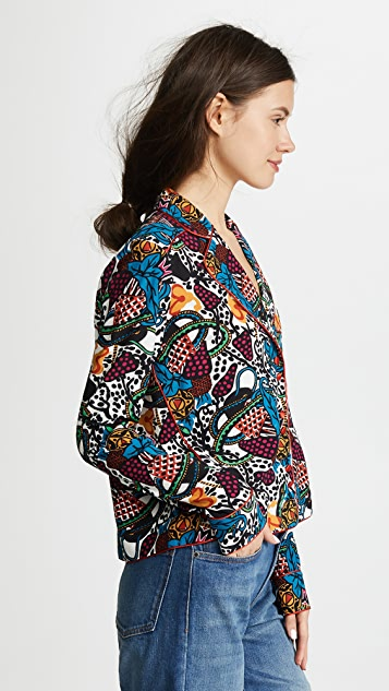 Veronica Beard Penelope Blouse