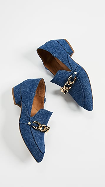 Veronica Beard Jaxon Mule Loafers