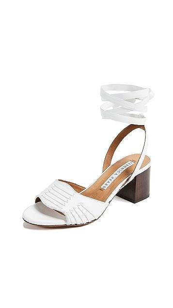 Veronica Beard Brody Wrap Sandals