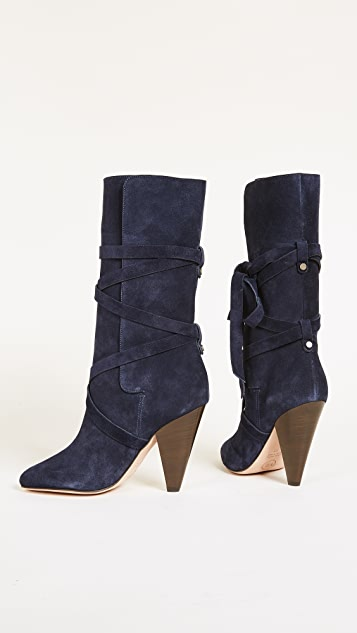 Veronica Beard Hall Heel Boots