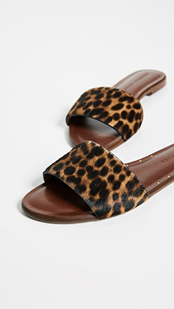 Veronica Beard Flor Leopard Haircalf