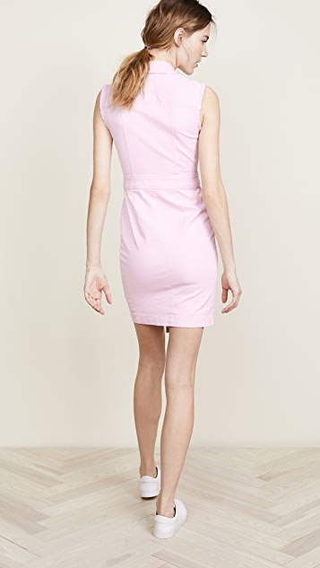 Veronica Beard Britton Sleeveless Dress