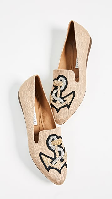 Veronica Beard Griffin Anchor Flats