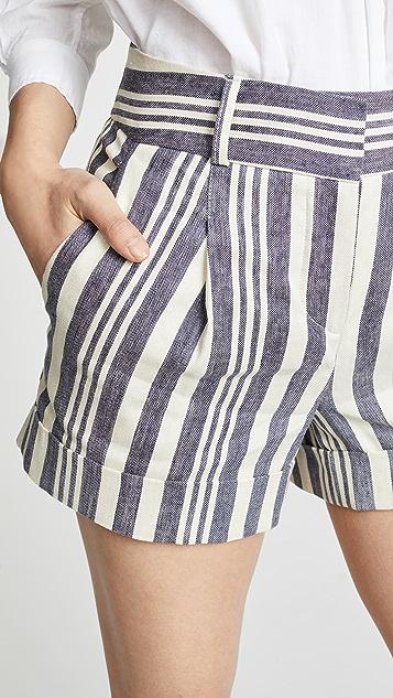 Veronica Beard Carito Shorts