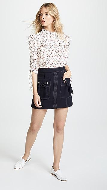 Veronica Beard Rinko Skirt
