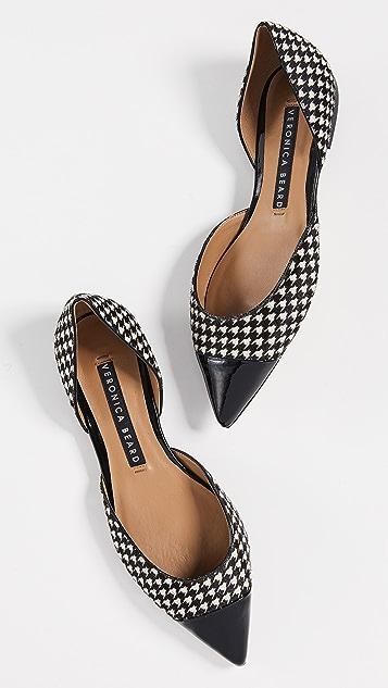 Veronica Beard Обувь Leonie на плоской подошве в силе d'Orsay