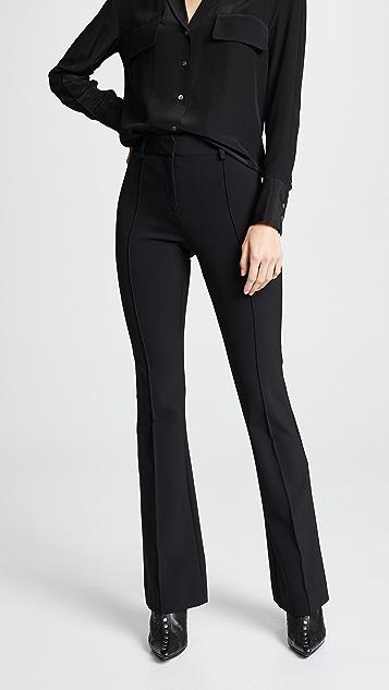 Veronica Beard Расклешенные брюки Hibiscus