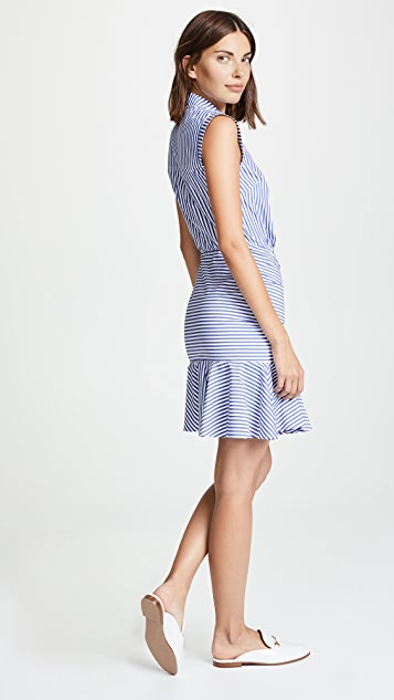 Veronica Beard Ruched Dress