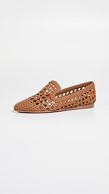 Veronica Beard Griffin Loafers - Almond