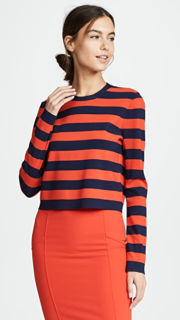 Veronica Beard Broome Long Sleeve Sweater