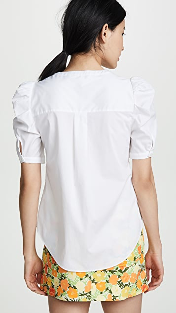 Veronica Beard Garland Blouse