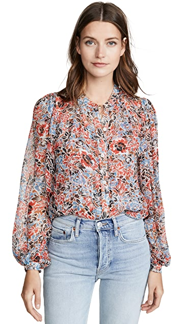 Veronica Beard Ashlynn Blouse