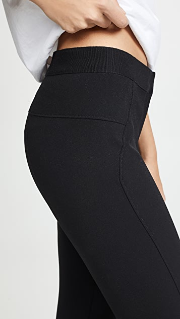 Veronica Beard 黑色潜水风格贴腿裤