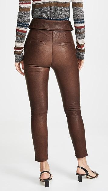 Veronica Beard Minerva 皮裤