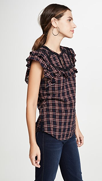 Veronica Beard Hawn 女式衬衫