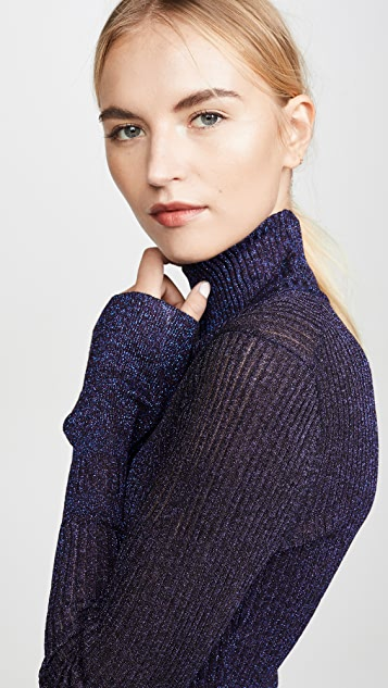 Veronica Beard Lilia Turtleneck Pullover