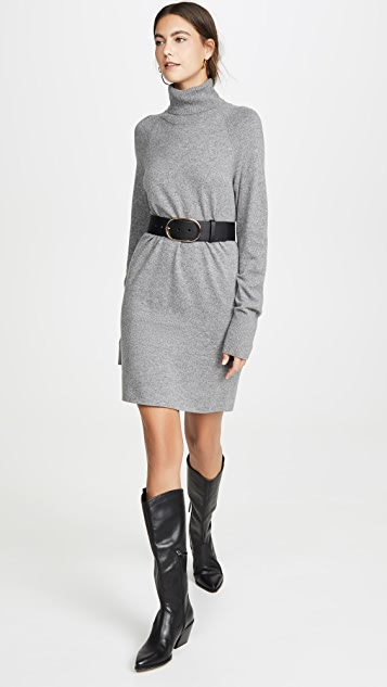 Veronica Beard Saranac Turtleneck Mini Dress