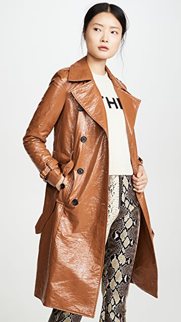 Veronica Beard Tops Finnick Dickey Trench