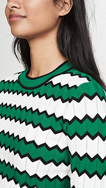 Veronica Beard Amalie 圆领套头衫