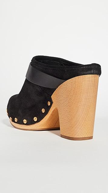 Veronica Beard Dacey 木底鞋