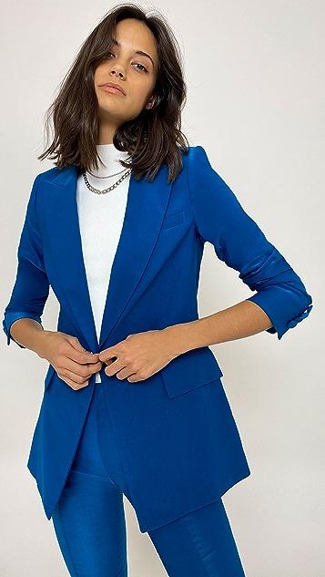 Veronica Beard 长款显瘦假两件式夹克