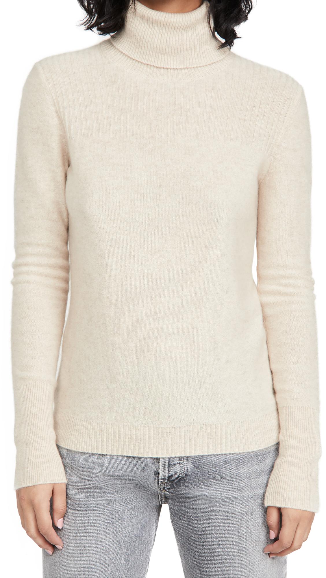 Veronica Beard Kressy Cashmere Turtleneck Sweater