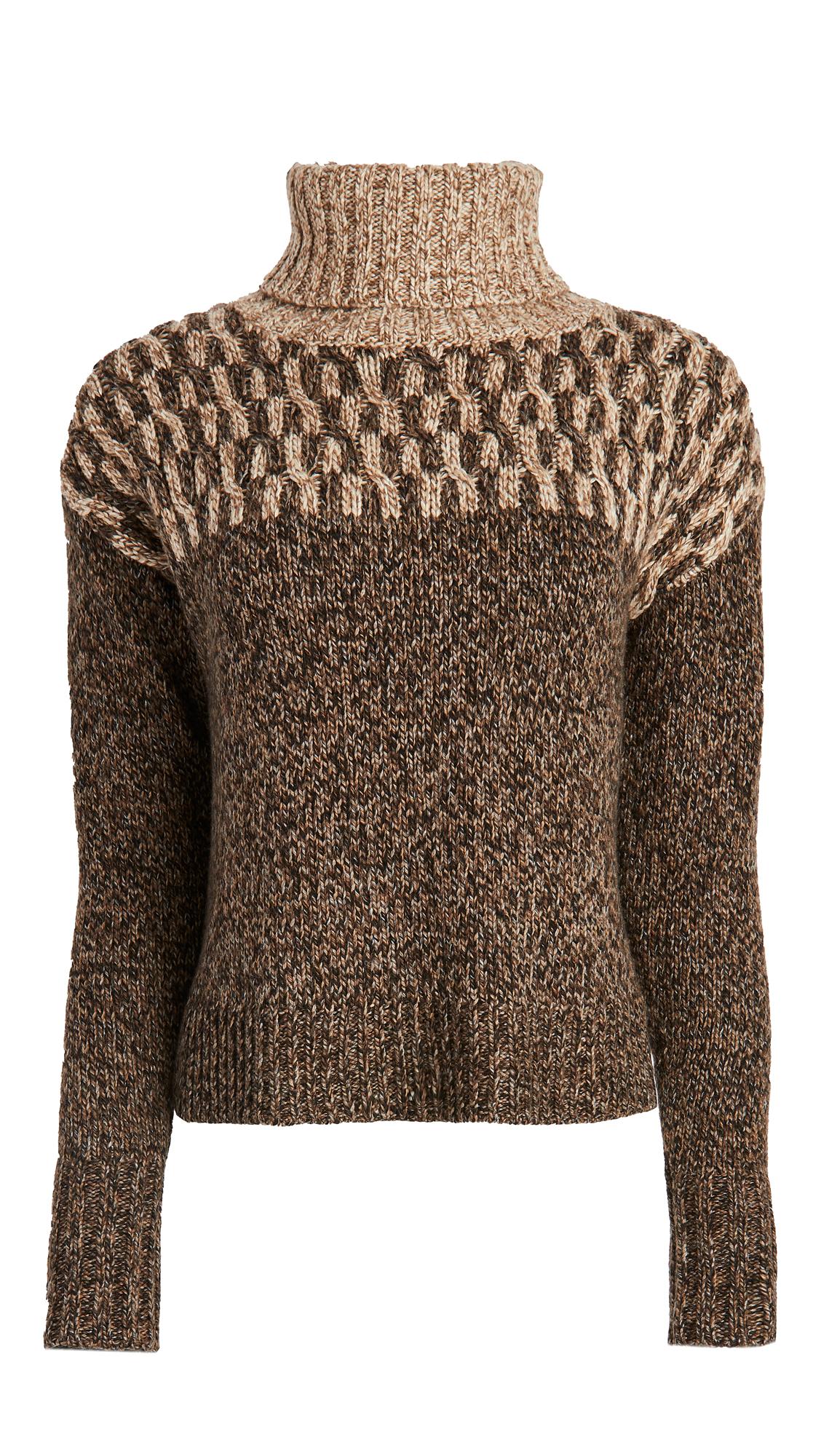 Veronica Beard Bia Turtleneck Sweater