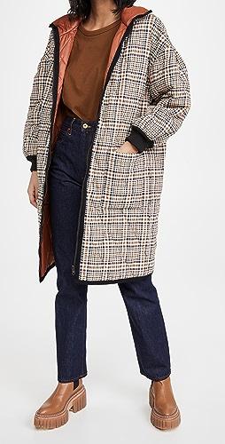 Veronica Beard - Shanna Reversible Puffer Coat