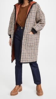 Veronica Beard Shanna Reversible Puffer Coat