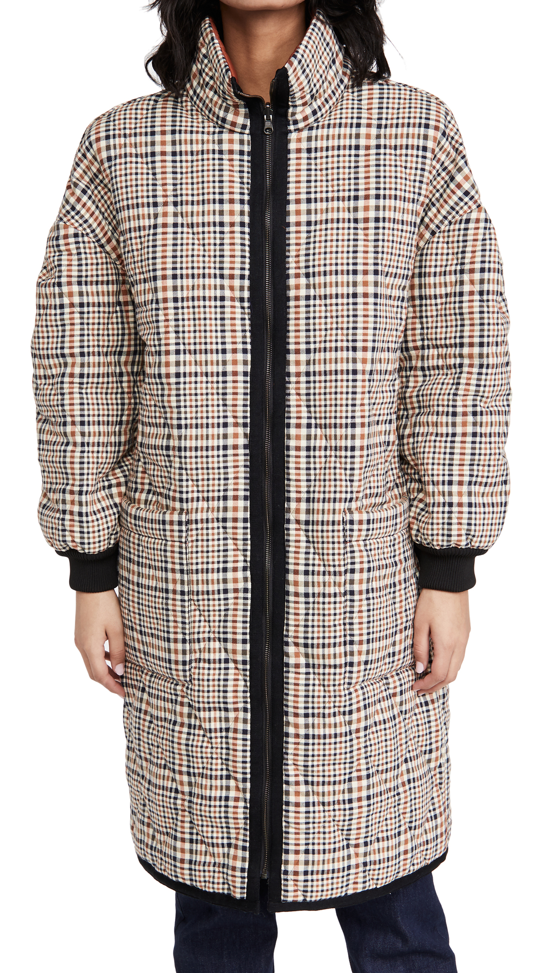 Veronica Beard SHANNA REVERSIBLE PUFFER COAT