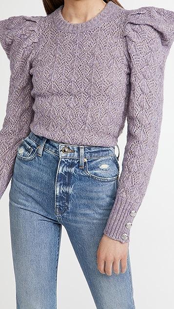 Veronica Beard Novah Crew Neck Sweater